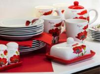 Súťaž o 18-dielnu tanierovú súpravu BANQUET Red Poppy