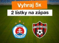 Súťaž o 5 x 2 vstupenky na ligový zápas na novom štadióne
