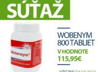 Súťaž o Wobenzym 800 tabliet v hodnote až 115, 95€