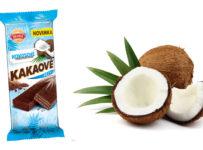 Súťaž o balíčky s napolitánkami Kakaové rezy kokosové