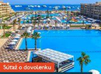 Súťaž o dovolenku v hoteli Albatros White Beach***** v Egypte