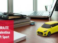 Súťaž o naťahovacie autíčko Suziki Swift Sport
