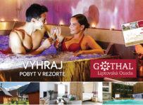 Súťaž o pobyt pre 2 osoby v rezorte GOTHAL v Liptovskej Osade