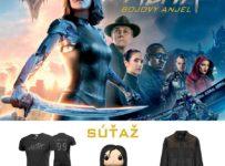 Súťaž o skvelé ceny s novým akčným scifi ALITA - Bojový anjel
