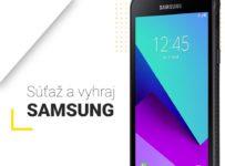Súťaž o smartfón SAMSUNG XCover 4