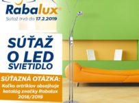 Súťaž o svietidlo značky RABALUX