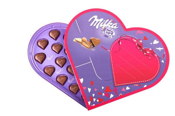 Súťaž o valentínske srdce Milka