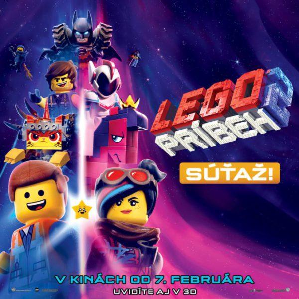 Súťaž s animovaným filmom LEGO® príbeh 2