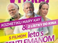Súťaž s filmom Leto s gentlemanom a s portálom Kinosála