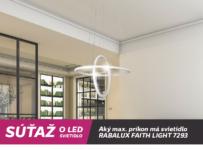 Súťaž o LED svietidlo značky RABALUX