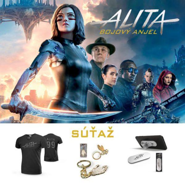 Súťaž o filmové ceny s novým akčným scifi ALITA – Bojový anjel