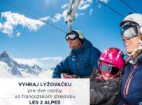 Súťaž o lyžovačku vo francúzskom stredisku LES 2 ALPES