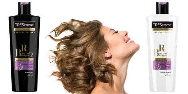 Súťaž o vlasovú kozmetiku TRESemmé