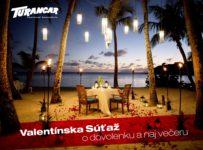 Valentínska súťaž o dovolenku a naj večeru