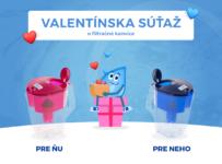 Valentínska súťaž o filtračné kanvice Maxima