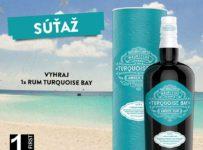 Vyhraj originálny, štýlový rum Turquoise Bay