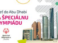 Vyhraj výlet na Svetové hry Špeciálnych olympiád do Abu Dhabi