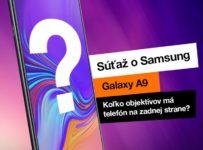 Vyhrajte nadupaný Samsung Galaxy A9
