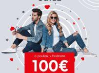 Vyhrajte poukážku na nákup oblečenia v hodnote 100 €