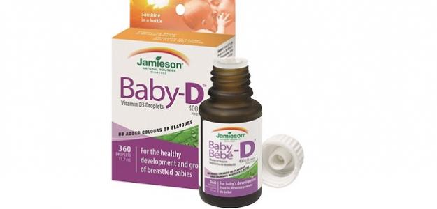 Vyhrajte prírodný vitamín BABY-D Jamieson
