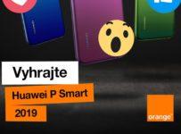 Vyhrajte smartfón Huawei P Smart 2019