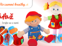 Vyhrajte textilnú bábiku s 5 druhmi zapínania