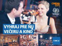 Vyhrajte večeru v Klubovni a vstupenky do Cinema City
