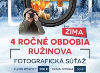 4 ročné obdobia Ružinova - fotografická súťaž