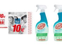 Súťaž o Savo Viacúčelové spreje a 10€ poukážku KiK