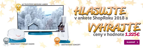 Hlasujte a vyhrajte televízor SAMSUNG