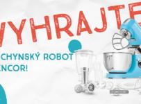 Vyhrajte kuchynský robot Sencor
