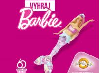 Súťaž o 3 bábiky Barbie morská panna