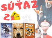Súťaž o 3 ks DVD filmov a 2x lístok do kina