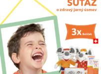 Súťaž o 3 x balíček pre zdravé zúbky od elmex®