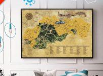 Súťaž o Stieraciu mapu Slovenska DELUXE XL