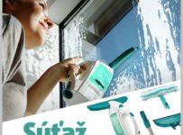 Súťaž o obľúbený čistič okien značky Leifheit
