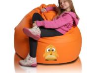 Súťaž o sedací vak malá guľa oranžová EMI