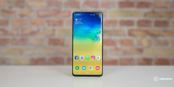 Súťaž o smartfón Samsung Galaxy S10