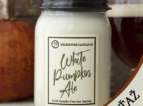 Súťaž o sviečku White Pumpkin Ale od Milkhouse Candle