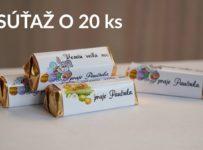 Súťaž o20 kusov Rumba čokoládok s vlastným motívom a menom