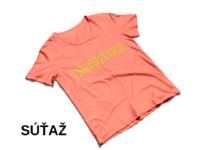 Súťaž s českou komédiou Teroristka o tričko s logom
