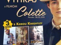 Súťaž s filmom Colette a s portálom Kinosála