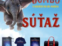 Súťaž s filmom Dumbo o filmové ceny