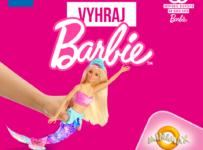 Víkendová súťaž o bábiku Barbie morskú pannu