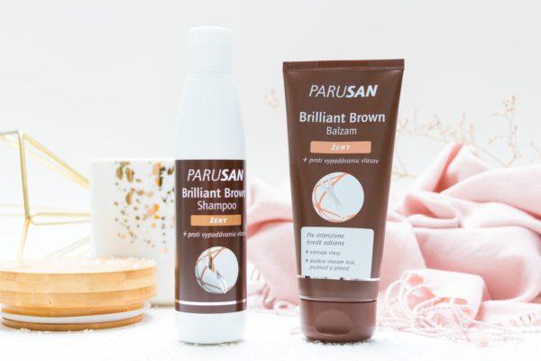 Vyhraj 3x Parusan Brilliant Brown balzam a šampón v hodnote 22,56 €
