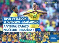 Vyhraj zájazd pre teba a kamoša na zápas Česko - Brazília 26. marca v Prahe
