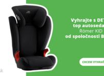 Vyhrajte detskú autosedačku Römer KID II