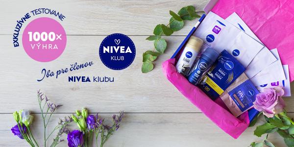 Vyhrajte jeden z 1000 balíčkov plných vzoriek NIVEA