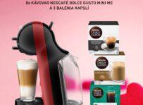 Vyhrajte kávovar Nescafé Dolce Gusto Mini Me a 3 balenia kapslí