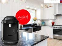 Vyhrajte kávovar Bosch Tassimo VIVY 2